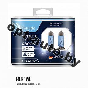 Автолампы Clearlight H1 12V-55W  WhiteLight (2 шт.)